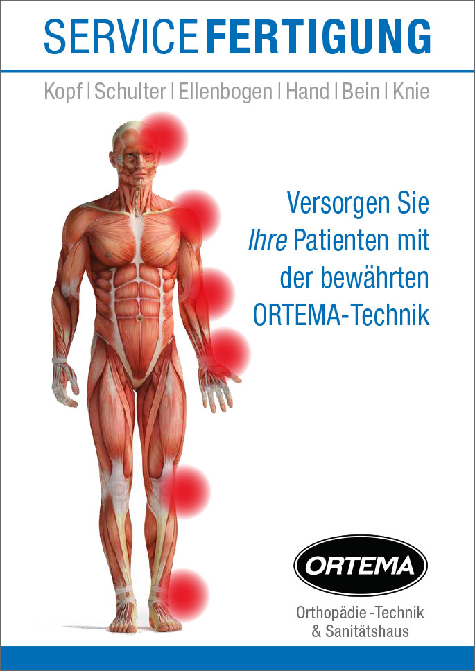 02a5940f120439 Supply your Patients with the Proven ORTEMA Technology